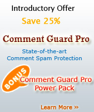 Comment Guard Pro Introductory Offer