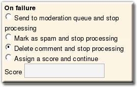 Comment Guard Pluglets Configuration