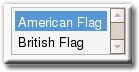 Translator Plugin Gold English Flags